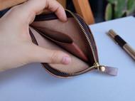 一个自用的简单L植鞣钱包
