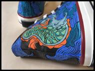 「垂花遙.少年遊」手繪鞋