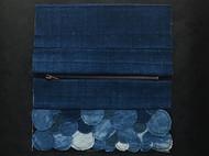 拼布蓝染钱包