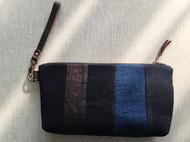 蓝染拼布 手包
