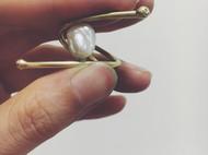 6/100 一枚酷酷的珍珠戒指