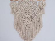ins北欧风编织挂毯