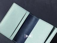 非对称设计的两折短夹