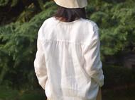 天然祚蚕丝原色渔夫帽