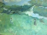 green系列油画