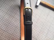 手工缝製皮带