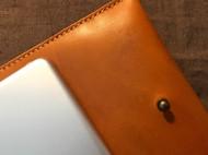 iPad植鞣油蜡皮套/手拿包