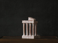「置物 | 天空之城」「Apollo's 2」桌面置物 木雕装置