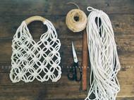 度假风绳编包