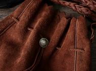 arunningdeer手工真皮麋鹿皮GOROS高桥包巾着包猎人包挎包男女用
