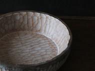 【售罄】「时间的纹理 | 新木器时代」手作深底木点心盘 茶点盘子