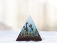 雨季 金字塔摆件 镇纸