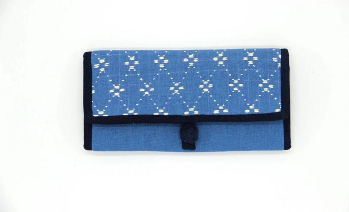 刺子绣钱包