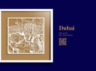 纸雕城市地图
