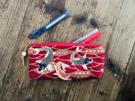 手工布艺笔袋