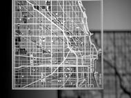 O3工作室出品纸雕城市地图
