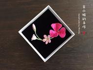 立体绣:紫色三叶草……我的幸运草