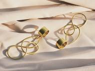 3款黄铜耳环