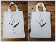 植物写实刺绣作品