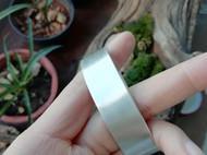 拉丝素面银镯