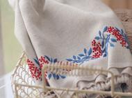 刺绣花边袖套