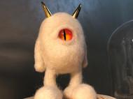 羊毛毡作品《恶魔蛋蛋》