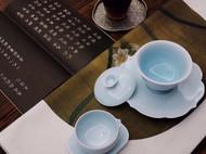 有無造物——茶道生活/手工莲花造型盖碗茶具