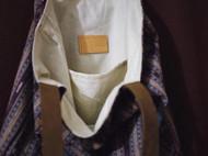 △原创紫色泰式手工布袋包