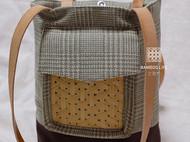 竹编元素包袋