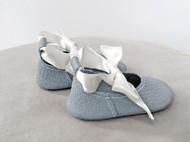 蝴蝶结学步鞋