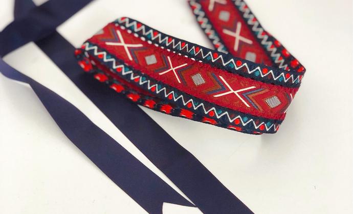 民族风刺绣腰带
