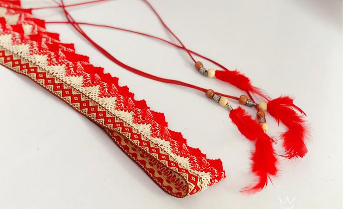 民族风蕾丝腰带
