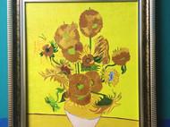 梵高油画 向日葵 临摹