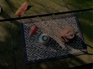 老织锦茶席 纯手工缝制