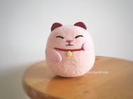招财猫~羊毛毡