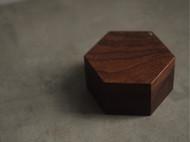 手工制作北美黑胡桃木珠宝盒 戒指盒子