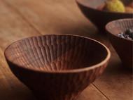 【已外】手工制作北美黑胡桃木碗 整木制作