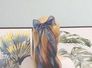 珠光蝴蝶发带