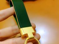 日本小川爱尔兰绿马臀皮钥匙扣