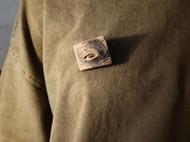 原创手工木质胸针 | 可以动的眼睛系列