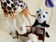 「羊毛毡仿真动物博物馆」快乐游乐园系列一窥