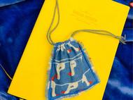 蓝色收纳包
