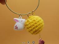 月兔与月球钥匙扣