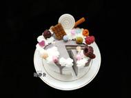 香薰蜡烛-切块儿蛋糕