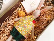 甜心手工diy布艺兔子玩偶材料包