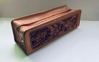 皮雕小物:笔袋 工具袋