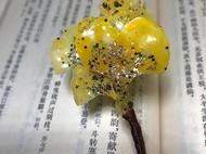 热缩片 银杏叶钗&银杏珍珠耳钉
