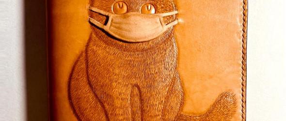 热爱生命 口罩猫努力抗疫