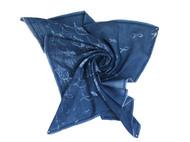 植物染蜡染方巾——鱼涌
