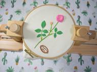 刺绣绣架 适合苏绣欧式刺绣十字绣 榉木材质 刺绣工具